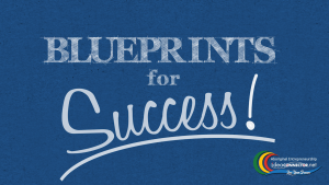 Blueprints for Success - Blue BG - STILL