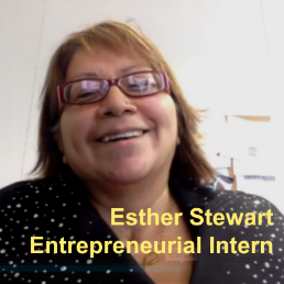 Blueprints for Success – Entrepreneurial Intern: Esther Stewart