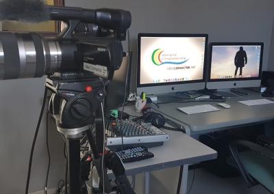 Video Production Control Desk