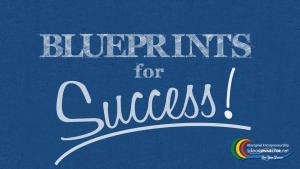 Blueprints for Success - Blue BG - STILL