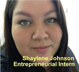 Blueprints for Success – Entrepreneurial Intern: Shaylene Johnson